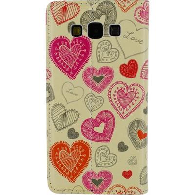 Mobilize Magnet Book Card Stand Case Samsung Galaxy A7 Cupid Mobile phone case - Multi kleuren