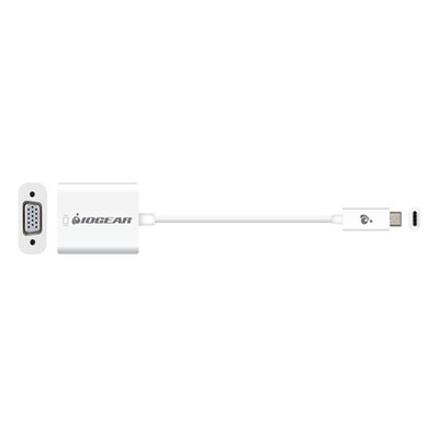 Iogear : USB 3.1, VGA, 5.4 Gbps, 1920 x 1200px, 20 g - Wit