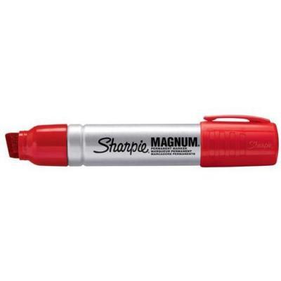 Sharpie marker: S0949870 - Rood, Zilver