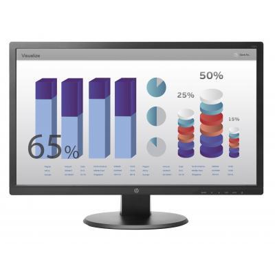 HP V243 Monitor - Zwart