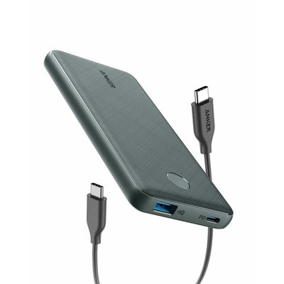Anker PowerCore Slim 10000 PD Powerbank - Zwart