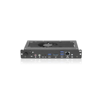 NEC Intel Core i7-6820EQ, 8GB RAM, 128GB SSD, USB 3.0 x 3, LAN, DisplayPort, Windows 10IoT - Zwart