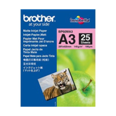 Brother papier: BP60MA3 Inkjet Paper - Wit