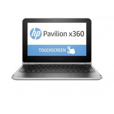 HP laptop: Pavilion x360 11-k120nd - Zilver