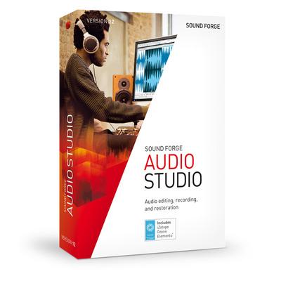Magix Sony Sound Forge Audio Studio 12 PC Audio software