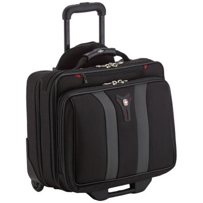 "Wenger/swissgear laptoptas: GRANADA 43.18 cm (17"") Wheeled Laptop Case with Telescopic Trolley Handle, Overnight ....."