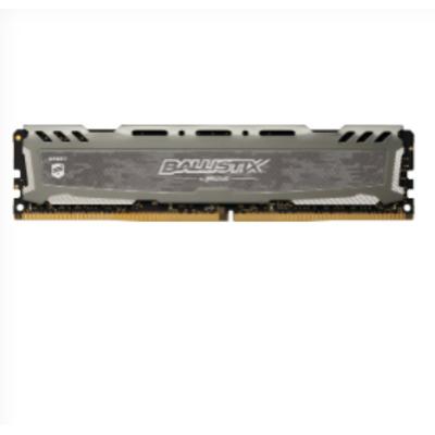 Crucial Ballistix Sport LT 8GB DDR4-2666 RAM-geheugen - Grijs