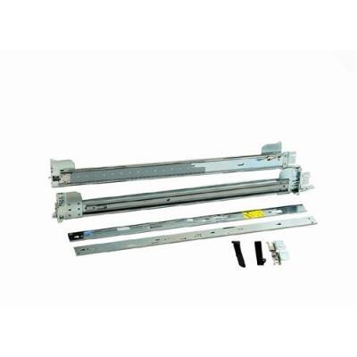 Dell rack toebehoren: ReadyRails Sliding 2U Without kabelhanteringsarm - Zilver