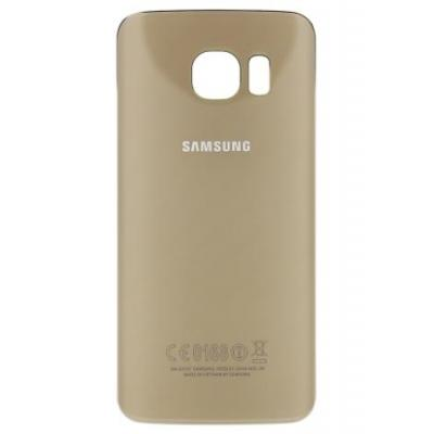 Samsung mobile phone spare part: Back Cover - Goud