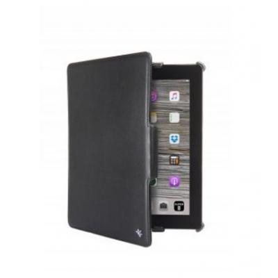 Gecko Covers Slimfit beschermhoes geschikt voor Apple iPad 2/3/4 Tablet case - Zwart