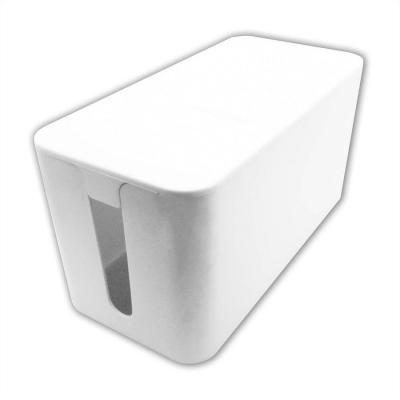 Value Cable organizer Cable box White 1 pc(s) - Wit