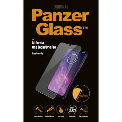 PanzerGlass Motorola One Zoom/One Pro Edge-to-Edge Screen protector - Transparant