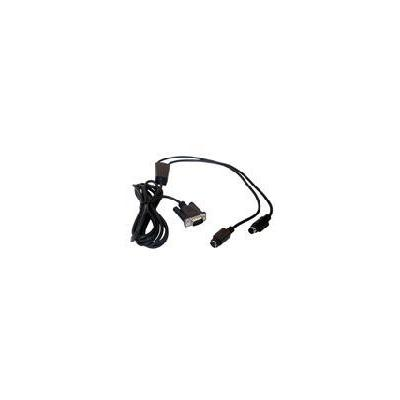 Datalogic signaal kabel: CAB-320 RS-232 Straight 25-Pin DTE - Zwart