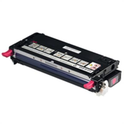 Dell toner: Magenta tonercartridge met hoge capaciteit voor de Kleur Laser Printer 3110cn (8000 pagina's)