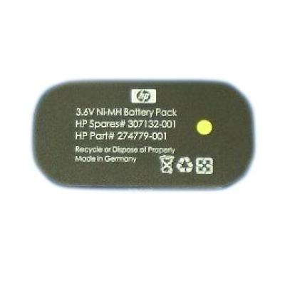 Hewlett packard enterprise batterij: 3.6V battery pack assembly for Smart Array 641, 642, 6404/256, 6402/128, P600/256 .....
