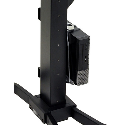 Ergotron montagekit: WorkFit-PD CPU Holder Kit - Zilver