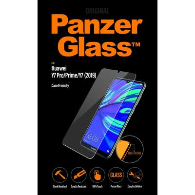 PanzerGlass Huawei Y7 Pro/Prime (2019) Edge-to-Edge Screen protector - Transparant