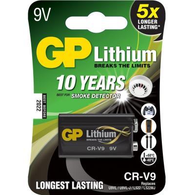 Gp batteries batterij: Lithium CR-V9 - Zwart