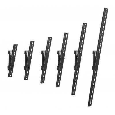 Vogel's flat panel plafond steun: PFS 3308 Interface display strips, 830 mm - Zwart