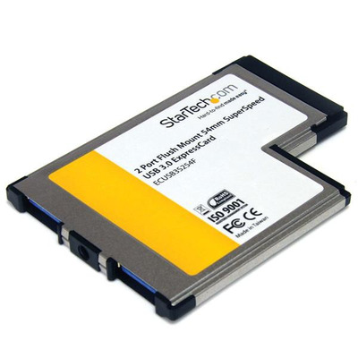 StarTech.com ECUSB3S254F interfacekaarten/-adapters