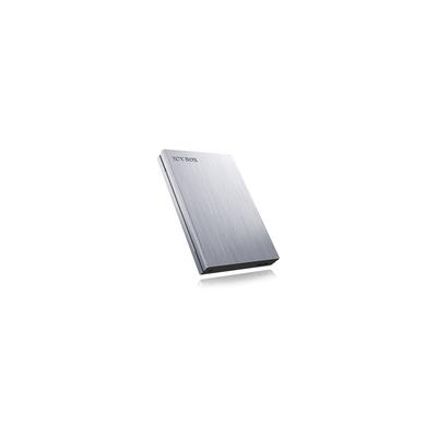 ICY BOX IB-241WP Behuizing - Antraciet, Zilver
