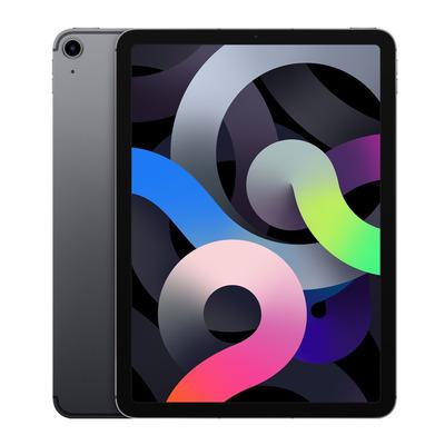 Apple iPad Air (2020) Wi-Fi + Cellular 256GB 10.9 inch Space Grey Tablet - Grijs