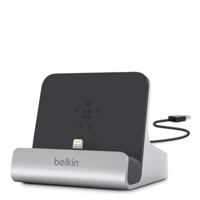 Belkin mobile device dock station: Express Dock - Zwart, Zilver