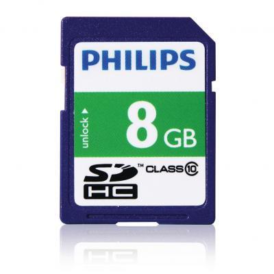 Philips flashgeheugen: SD-kaarten FM08SD45B/10