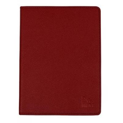 Gecko e-book reader case: Protection cover deluxe f / Kobo Aura H2O, Leatherette, Red, 160g - Rood