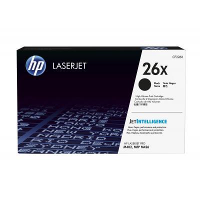 HP 26X zwart voor o.a. LaserJet Pro M402 & M426 Toner