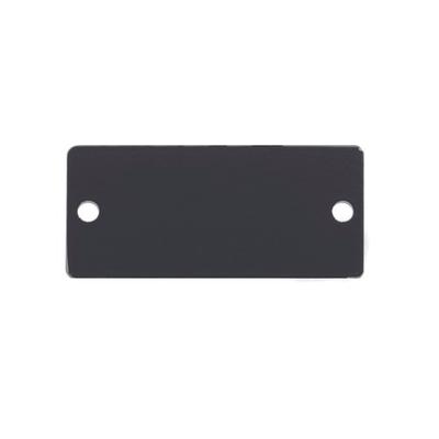 Kramer Electronics Blank Cover for Wall Plate Insert Slot - Zwart
