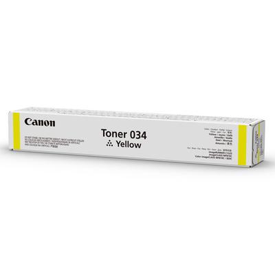 Canon 034 Toner - Geel