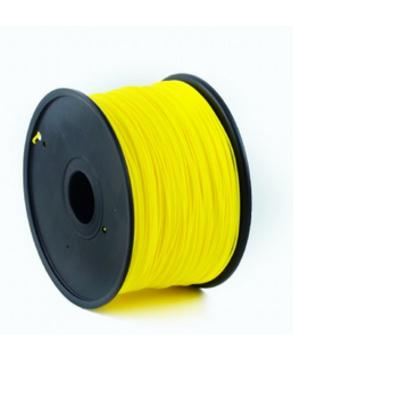 Gembird PLA plastic filament voor 3D printers, 1.75 mm diameter, geel 3D printing material