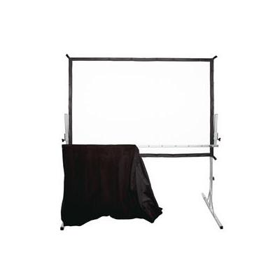 Projecta projector accessoire: Fast-Fold Deluxe Adjustable Skirt Bar 211 x 366 - Zilver
