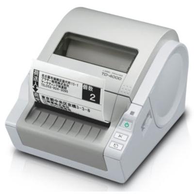 Brother TD-4000 - Professionele voor RD labels en rollen van 51 tot 102 mm - 300 dpi Labelprinter - Grijs