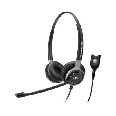 Sennheiser SC 660 headset - Zwart, Zilver