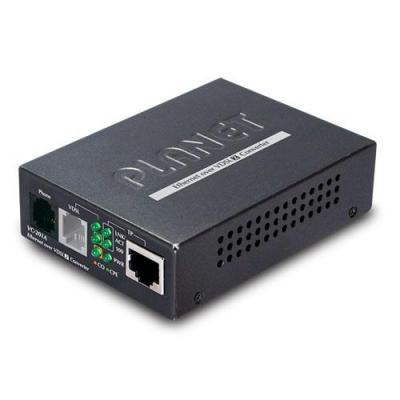 Planet media converter: Ethernet over VDSL2 Converter, 1 x RJ-45, 1 x RJ-11 - Zwart