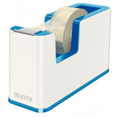 Leitz tape afroller: WOW - Blauw, Metallic