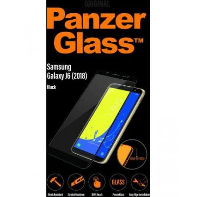PanzerGlass Samsung Galaxy J6 2018, scratch resistant, 100% touch, transparent Screen protector - Transparant