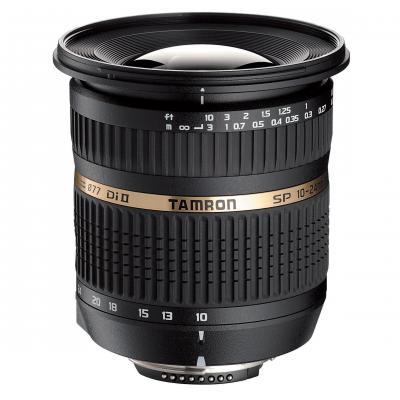 Tamron camera lens: SP AF10-24mm F/3.5-4.5 Di-II - Zwart