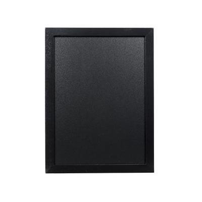Securit bord: 300 x 5 x 400 mm, 592 g - Zwart