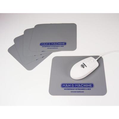 Man & Machine Autoclavable Mouse Pad – 5 pack Toetsenborden