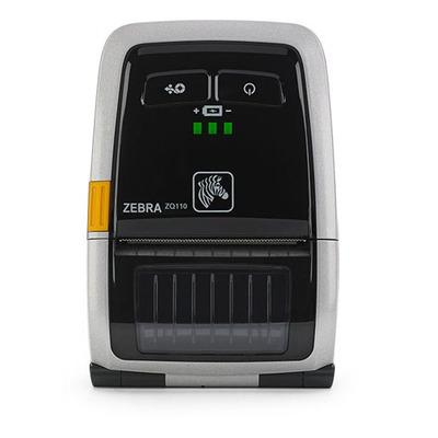 Zebra pos bonprinter: ZQ110 - Zwart