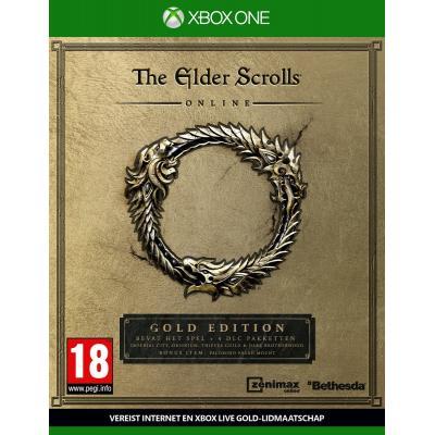 Bethesda game: The Elder Scrolls Online: Tamriel Unlimited (Gold Edition)  Xbox One