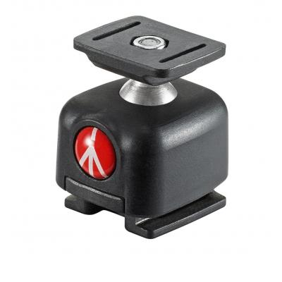 Manfrotto camera flits accessoire: Lumie series accessory ball head mount - Zwart