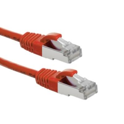 EECONN Cat.6 S/FTP Patchkabel, AWG26, PVC, Rood, 1m Netwerkkabel