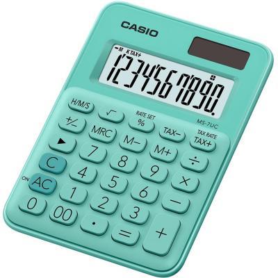 Casio MS-7UC Calculator - Groen