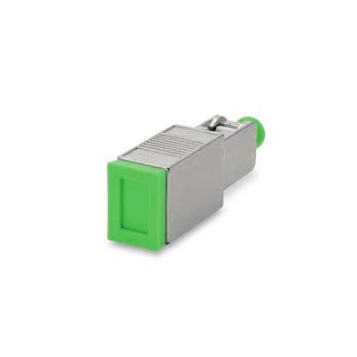 Spaun SODE 6 SC/APC Fiber optic adapter - Groen, Zilver