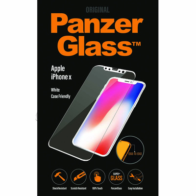PanzerGlass Apple iPhone X/Xs, Edge-to-Edge Screen protector - Transparant