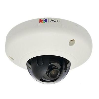 "Acti beveiligingscamera: 10MP, 3648 x 2736, 30 fps, 1/2.3"" CMOS, Fast Ethernet, PoE, 3.84 W - Zwart, Wit"